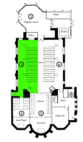 Floorplan traced 2