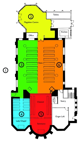 St Mary Magdalen Floor Plan